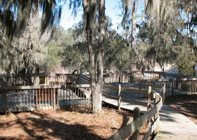 Suwannee River - Dock