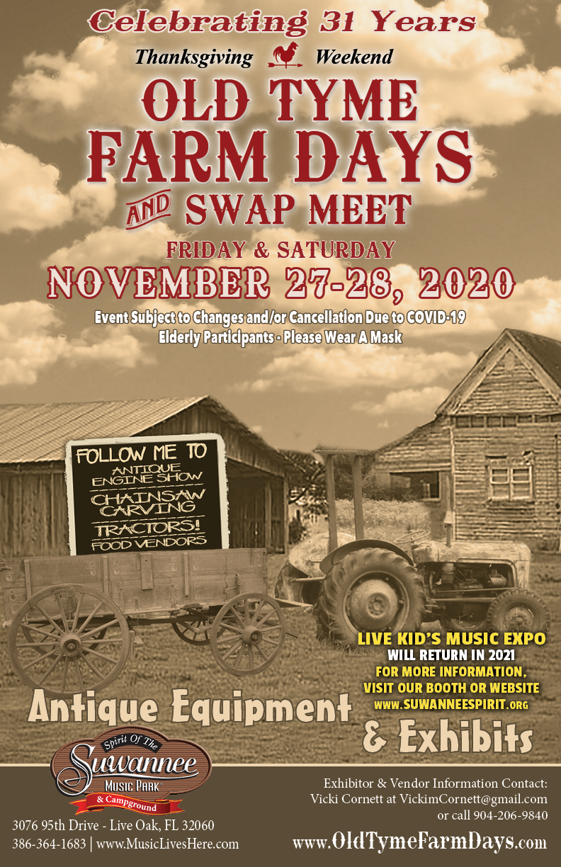 Old Tyme Farm Days & Swap Meet @ Live Oak | Florida | United States