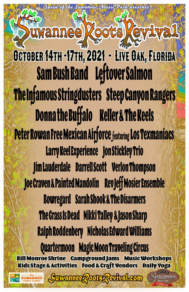 Suwannee Roots Revival - 2021