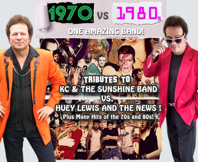 KC & The Sunshine Band / Huey Lewis & The News - Tribute Show