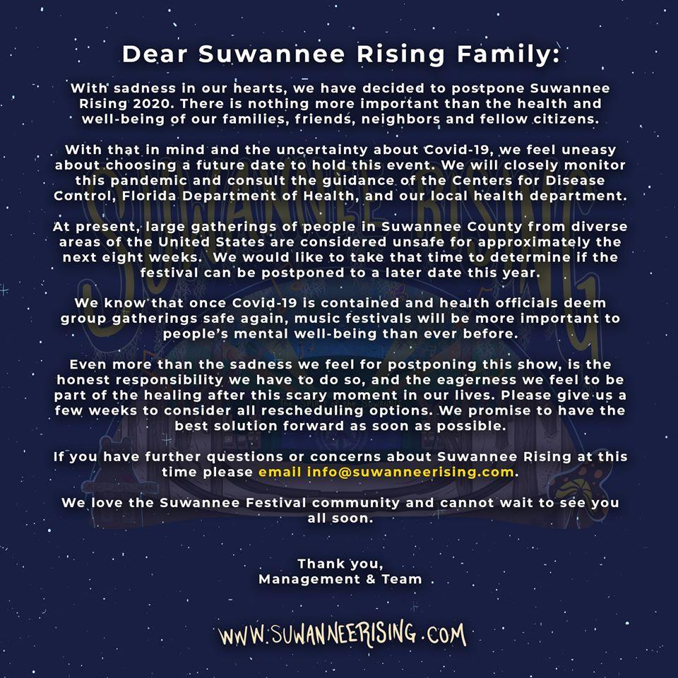 Suwannee Rising