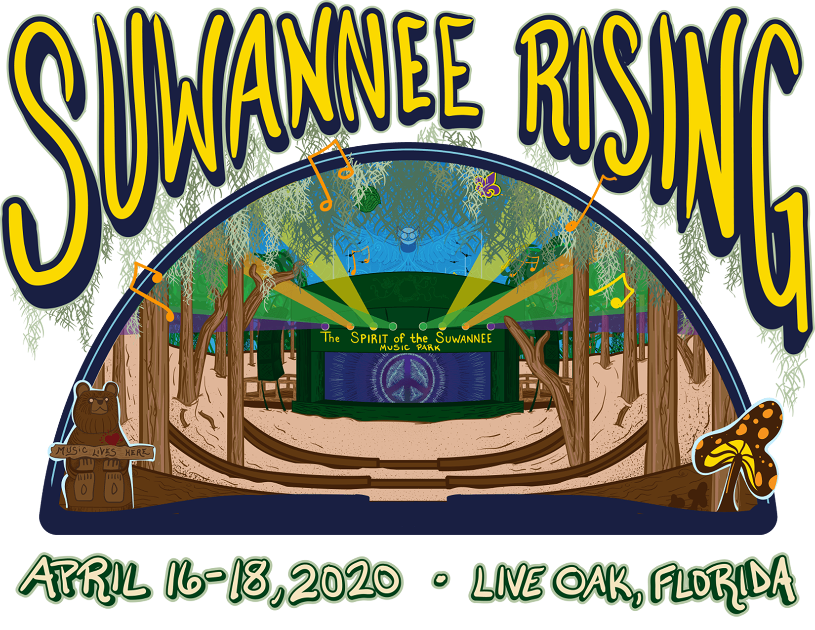 Suwannee Rising Logo 2020