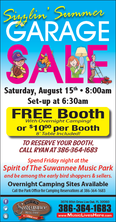 Sizzlin' Summer Garage Sale