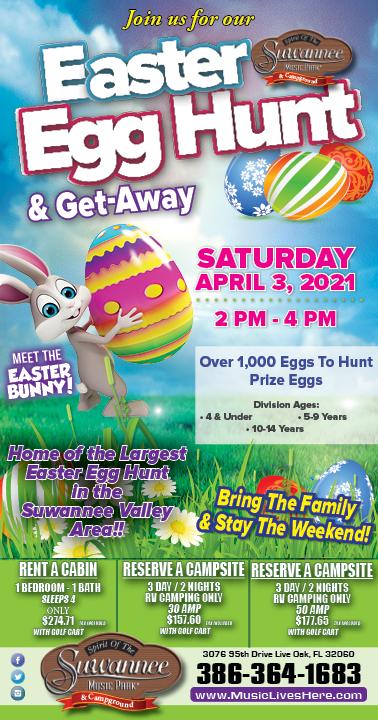 Easter Egg Hunt & Getaway - 2021