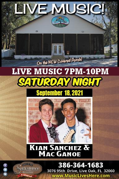 Kian Sanchez & Mac Ganoe